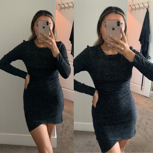 Dresses & Skirts - Charcoal Grey Dress